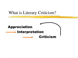 What is Literary Criticism