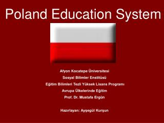 Poland Education System