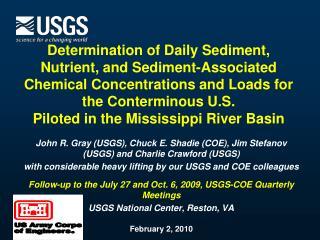 Determination of Daily Sediment