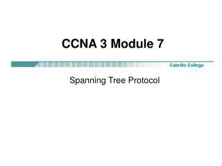 CCNA 3 Module 7