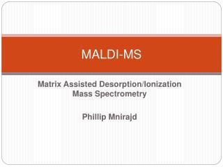 MALDI-MS