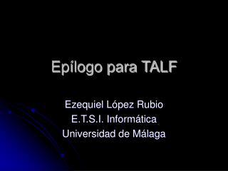 Ep logo para TALF