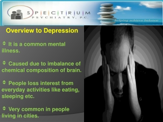 Effective way of Depression Treatments