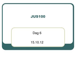 JUS100