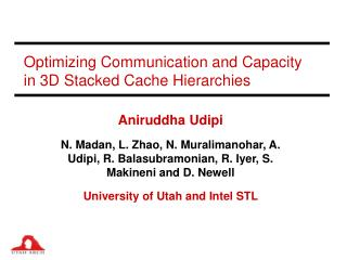 Optimizing Communication and Capacity in 3D Stacked Cache Hierarchies