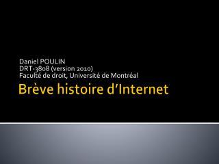 Br ve histoire d Internet