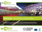 Technische Universit t Dresden, Institut f r Wirtschaft und Verkehr