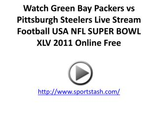 Watch Green Bay Packers vs Pittsburgh Steelers Live Stream F