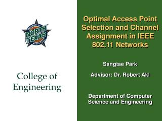 Optimal Access Point Selection and Channel Assignment in IEEE 802.11 Networks
