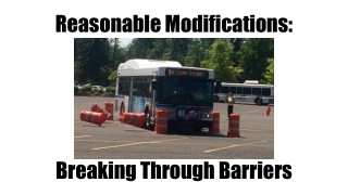 Breaking down barriers, driving up standards