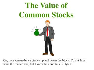 The Value of  Common Stocks
