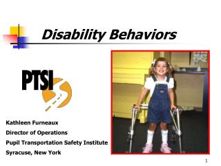 Disability Behaviors