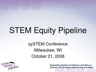STEM Equity Pipeline