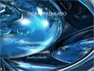 VIDRIO PRENSADO