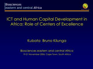 ICT and Human Capital Development in Africa: Role of Centers of Excellence
