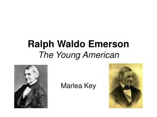 Ralph Waldo Emerson The Young American