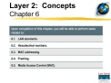 Layer 2:  Concepts Chapter 6