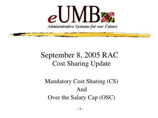 September 8, 2005 RAC
