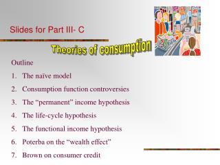 Slides for Part III- C
