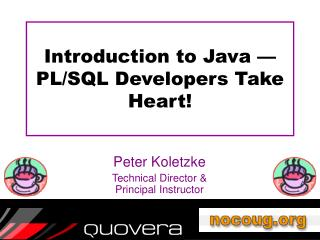 Introduction to Java   PL