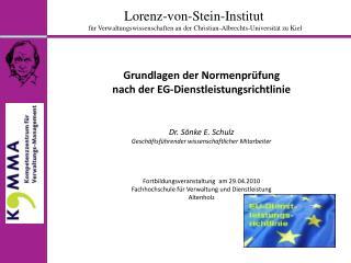 Lorenz-von-Stein-Institut