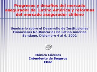 PRINCIPALES MODIFICACIONES A LA LEY DE SEGUROS
