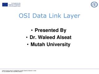 OSI Data Link Layer