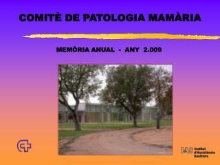 COMIT  DE PATOLOGIA MAM RIA