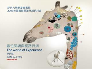 The world of Experience