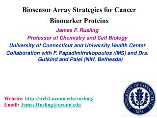 Biosensor Array Strategies for Cancer Biomarker Proteins