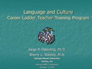 Language and Culture  Career Ladder Teacher-Training Program