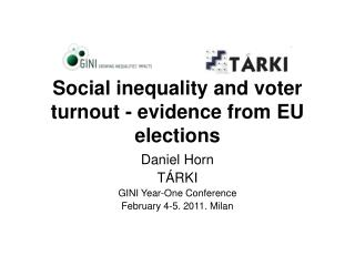 Social inequality and voter turnout - evidence from EU elections