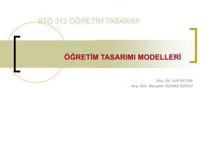 BT  312  GRETIM TASARIMI