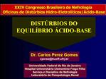 DIST RBIOS DO EQUIL BRIO  CIDO-BASE