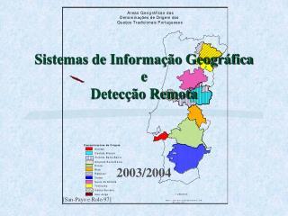Sistemas de Informa  o Geogr fica e Detec  o Remota