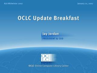 OCLC Update Breakfast