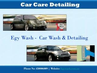 Car Care Detailing