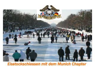 Eisstockschiessen mit dem Munich Chapter