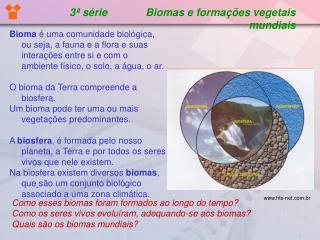 3  s rie             Biomas e forma  es vegetais mundiais