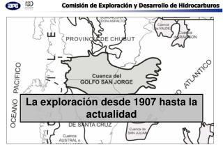 La exploraci n desde 1907 hasta la actualidad