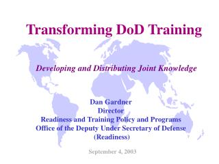 Transforming DoD Training