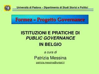 Universit  di Padova   Dipartimento di Studi Storici e Politici