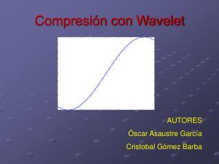 Compresi n con Wavelet
