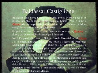 Baldassar Castiglione