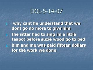DOL-5-14-07