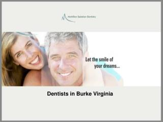 Sedation Dentistry By Burke Dentist Dr. Alex McMillan