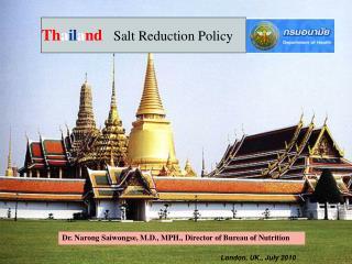 Thailand   Salt Reduction Policy