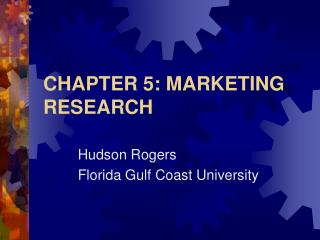 CHAPTER 5: MARKETING RESEARCH