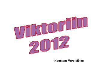 Viktoriin 2012