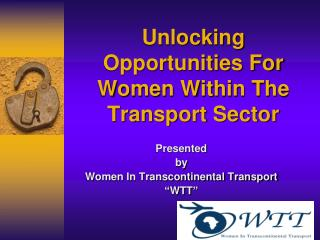 Unlocking Opportunities For Women Within The Transport Sector